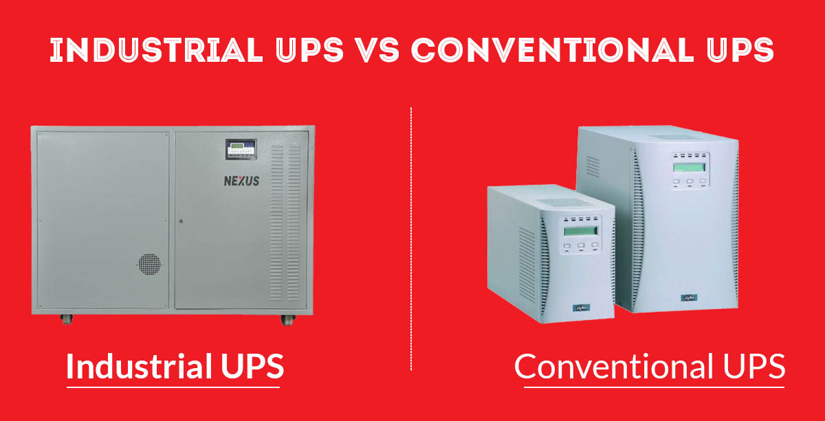 Prime Difference Between Industrial UPS Vs Conventional UPS
